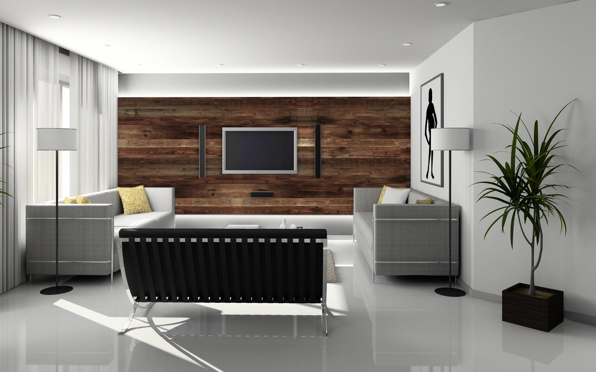 Wohnzimmer Solid Old braun SaunaPly