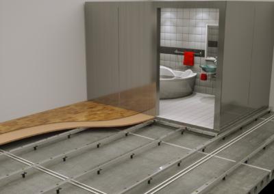 Granab ja kylpyhuone-elementti