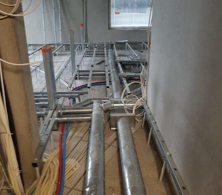 Ensimmäinen kokonaan Granab-lattiajärjestelmällä rakennettu kohde Suomessa